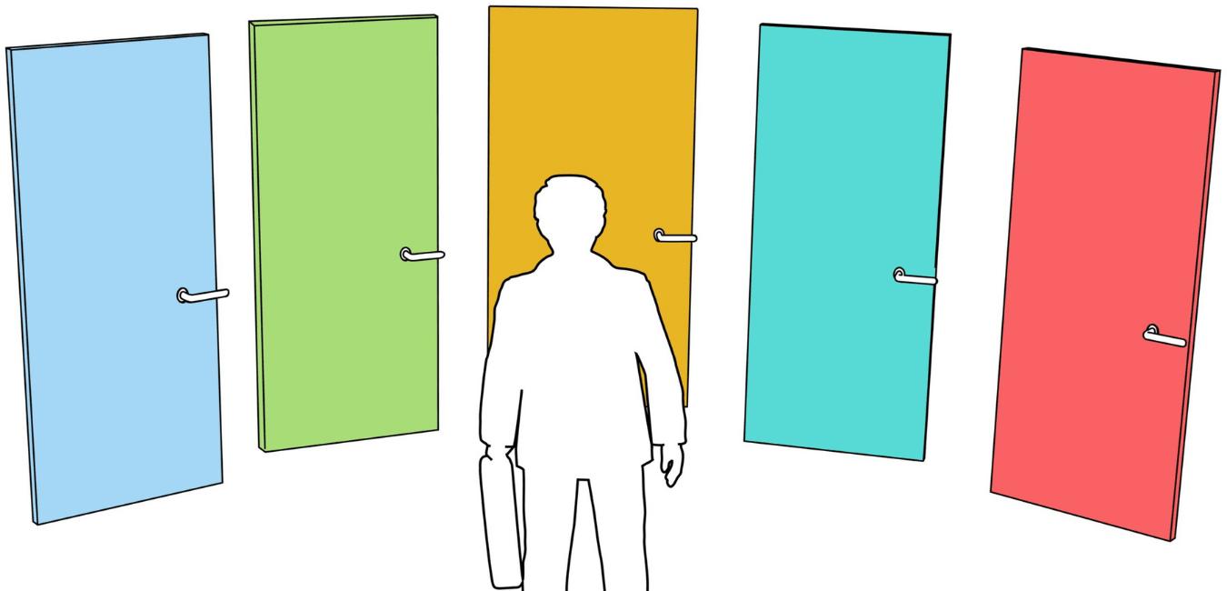 Da varinha mágica à liberdade de escolha: o dilema das opções infinitas