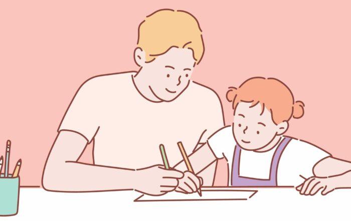 Educação positiva das crianças