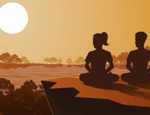 A arte do contentamento no Yoga e na vida